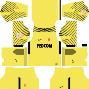 AS Monaco Goalkeeper Away Kit
