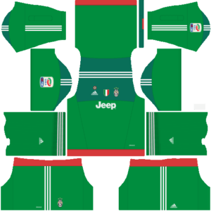Juventus Goalkeeper Third Kit Dls