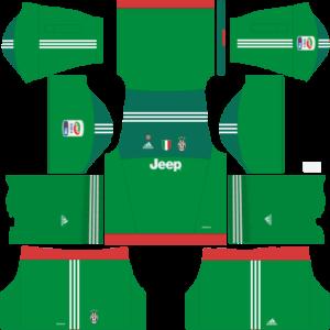Juventus Goalkeeper Third Kit Dls