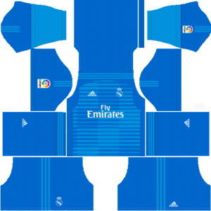 Real Madrid DLS Goalkeeper Away Kits