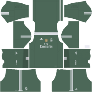 Real Madrid DLS Goalkeeper Home Kits