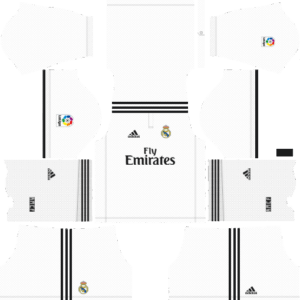 Real Madrid DLS Home Kit