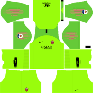 AS Roma DLS Goalkeeper Home kit