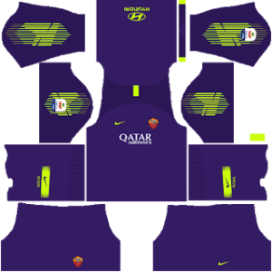 AS Roma DLS Goalkeeper Third kit