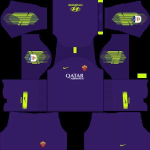 AS Roma DLS Goalkeeper Third kit