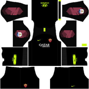 AS Roma DLS Goalkeeper away kit