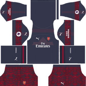 Arsenal DLS Away Kit
