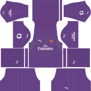 Arsenal DLS Goalkeeper Away Kit