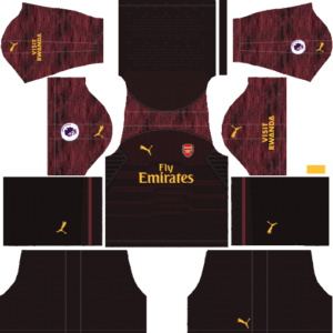 Arsenal DLS Goalkeeper Home Kit