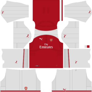 Arsenal Home Kit dls
