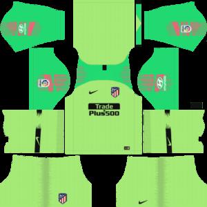 Atletico Madrid DLS Goalkeeper Away Kit