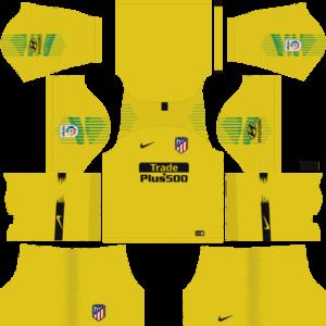 Atletico Madrid DLS Goalkeeper Third Kit