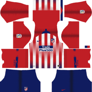 Atletico Madrid DLS Home Kit