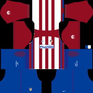 Atletico Madrid DLS Home Kits