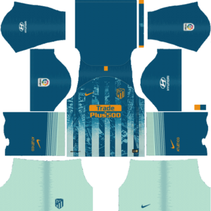 Atletico Madrid DLS Third Kit