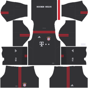 Bayern Munich DLS Goalkeeper Home Kit