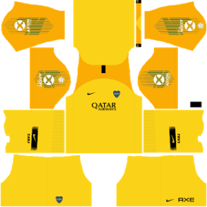 Boca Juniors DLS Goal Keeper Third Kit