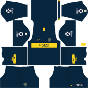 Boca Juniors DLS Home Kit