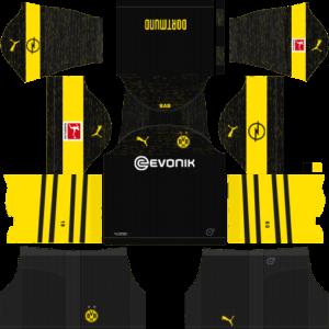 Borussia Dortmund DLS Away Kit