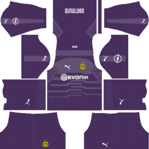Borussia Dortmund DLS Goalkeeper Away Kit