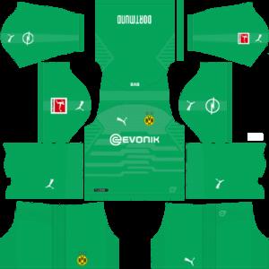 Borussia Dortmund DLS Goalkeeper Home Kit