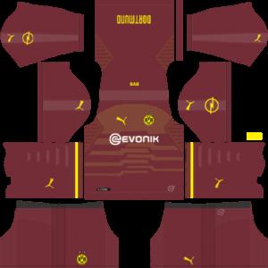 Borussia Dortmund DLS Third Kit