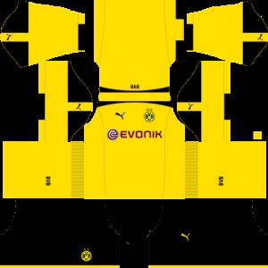 Borussia Dortmund DLS Third Kits