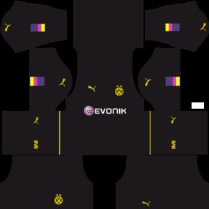 Borussia Dortmund Goalkeeper Home Kits