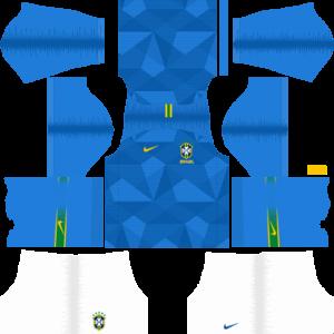 Brazil DLS  Away Kit