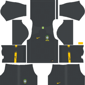 Brazil DLS Goalkeeper Away Kit