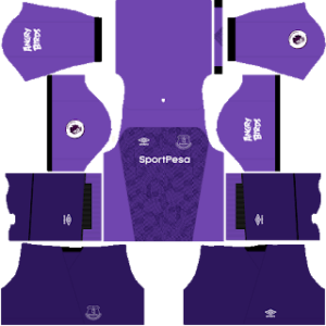 Everton FC DLS Goalkeeper Third Kit