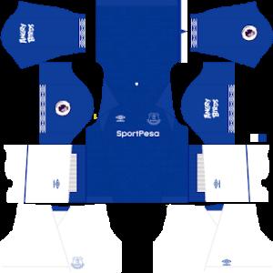 Everton FC DLS Home Kit