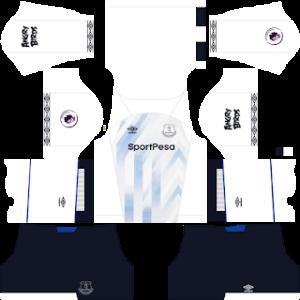Everton FC DLS Third Kit
