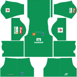 Kerala Blasters DLS Goalkeeper Home Kit