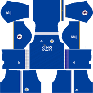 Leicester City  DLS Home Kit