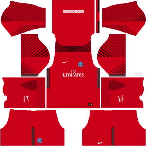 PSG DLS Goalkeeper Away Kit