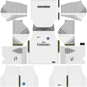 PSG DLS Goalkeeper Home Kit
