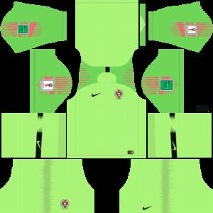 Portugal DLS Goalkeeper Away Kit