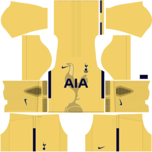 Tottenham Hotspur DLS Goalkeeper Home Kits