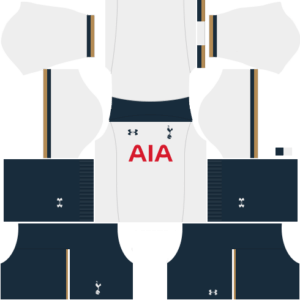 Tottenham Hotspur Home Kit dls
