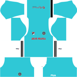 Pahang Fila DLS Goalkeeper Away Kit