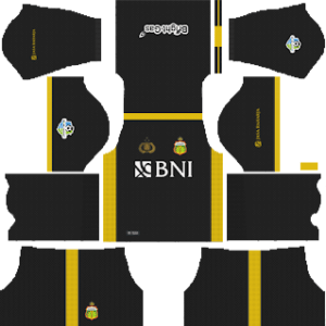 Bhayangkara FC DLS Goalkeeper Home Kit