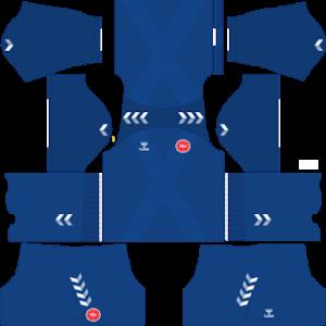 Denmark DLS Goalkeeper Third Kit