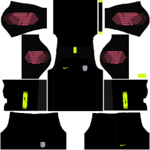 England DLS Goalkeeper Third Kit
