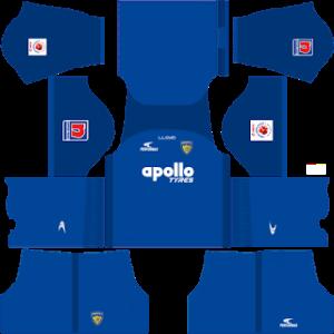 Chennaiyin FC DLS Home Kit