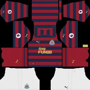 Newcastle United DLS Away Kit