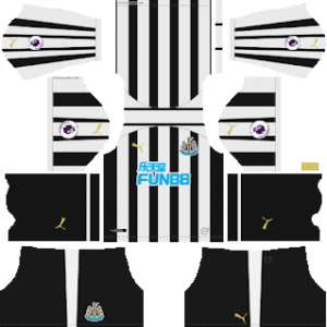 Newcastle United DLS Home Kit