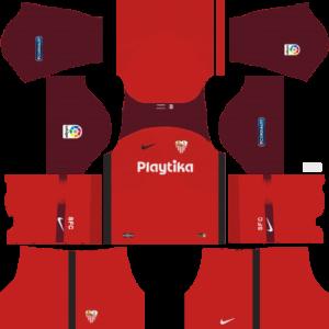 Sevilla FC DLS Away Kit