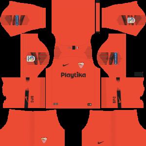Sevilla FC DLS Goal Keeper Away Kit