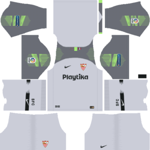Sevilla FC DLS Goal Keeper Third Kit